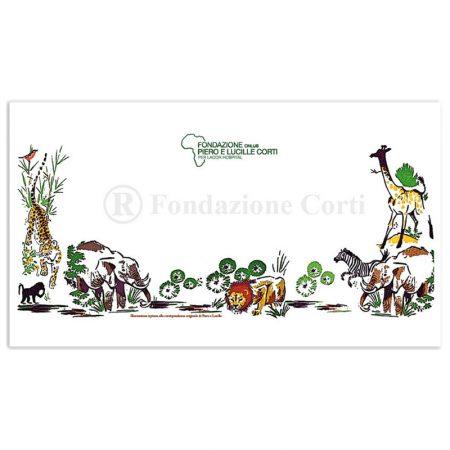 Cartolina animali ugandesi