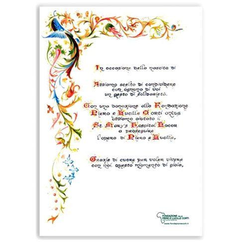 Pergamena Floreale